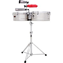 LP Prestige Series Stainless Steel Timbales