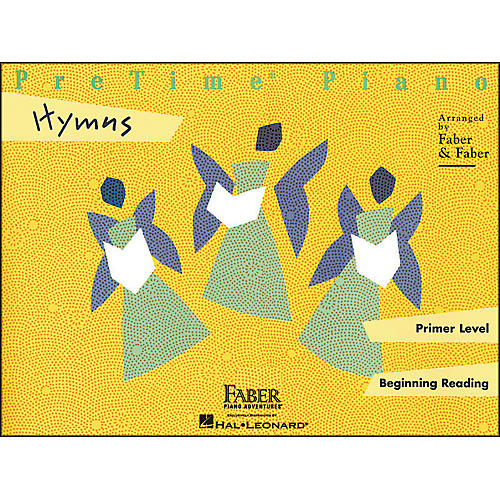Faber Piano Adventures Pretime Piano Hymns Primer Level Beginning Reading - Faber Piano-thumbnail