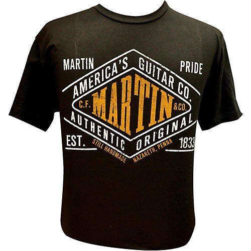 Martin Pride Authentic T-Shirt Black 2X