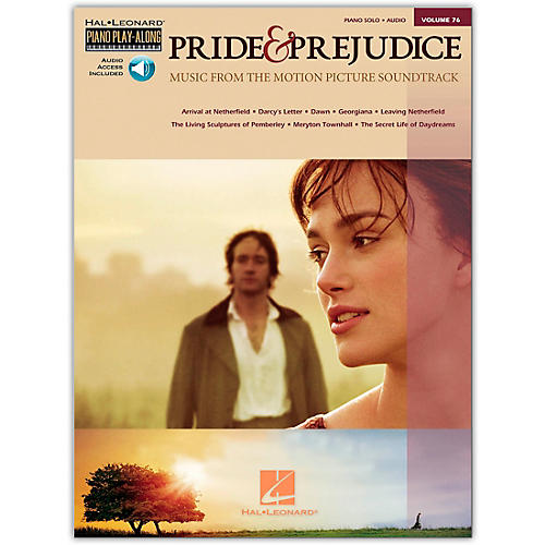 Hal Leonard Pride & Prejudice - Music From The Movie Soundtrack - Piano Play-Along Volume 76 (Book/Online Audio)-thumbnail