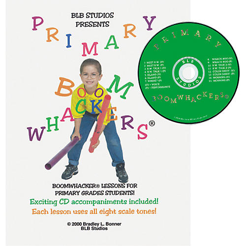 Rhythm Band Primary Boomwhackers Book/CD-thumbnail