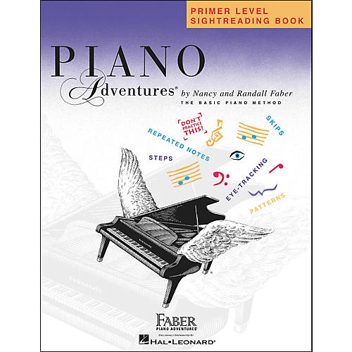 Faber Piano Adventures Primer Level Sightreading Book Faber Piano Adventures