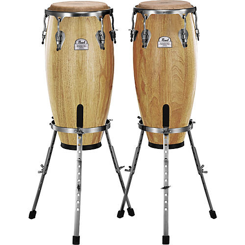 Pearl Primero Conga Set with Basket Stands Natural