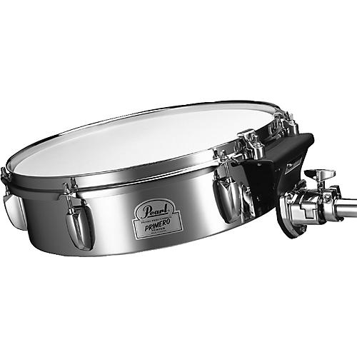 Pearl Primero Steel Timbale with Tom Mount-thumbnail