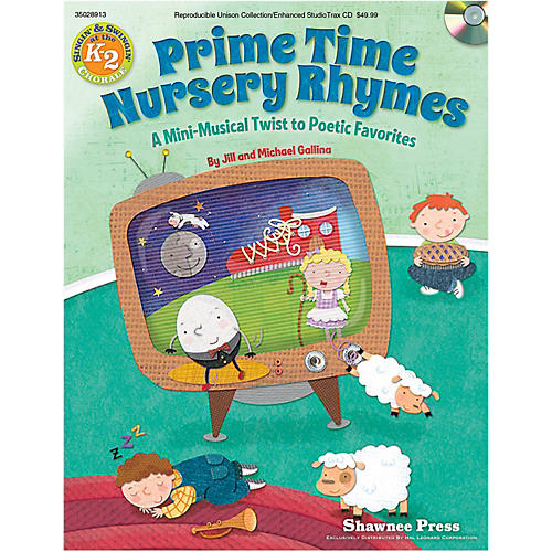Hal Leonard Primetime Nursery Rhymes - A Mini-Musical Twist to Poetic Favorites Performance Kit-thumbnail