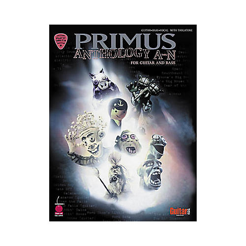Hal Leonard Primus Anthology A-N Guitar & Bass Tab Book-thumbnail