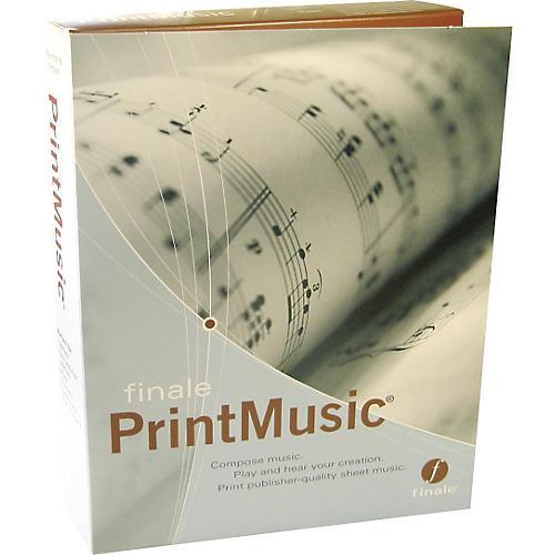 Finale PrintMusic 2006 Retail