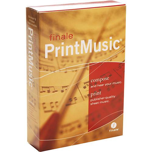 Finale PrintMusic 2009 5 User Lab Pack