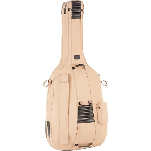 Bellafina Pro 3/4 Size Double Bass Bag Tan 3/4 Size