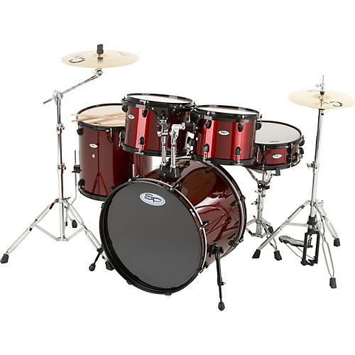 Sound Percussion Labs Pro 5-Piece Drum Shell Pack with Black Hardware