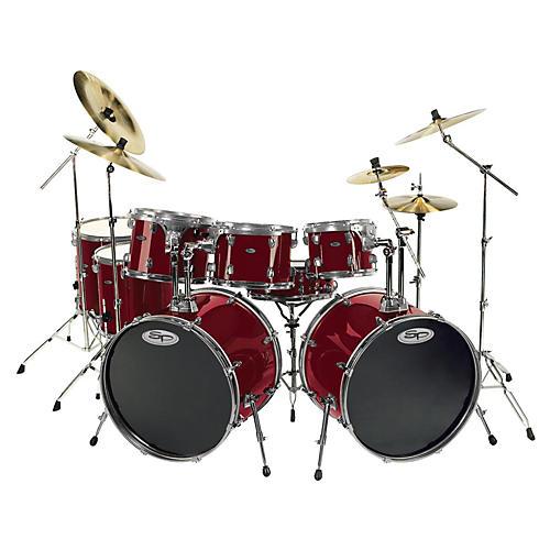 sound percussion labs pro 8 piece double bass drum set guitar center. Black Bedroom Furniture Sets. Home Design Ideas