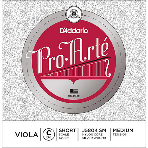 D'Addario Pro-Art Series Viola C String 13-14 Short Scale