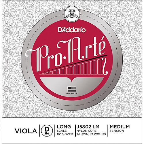 D'Addario Pro-Art Series Viola D String 16+ Long Scale Aluminum