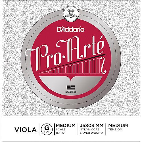 D'Addario Pro-Art Series Viola G String 15+ Medium Scale