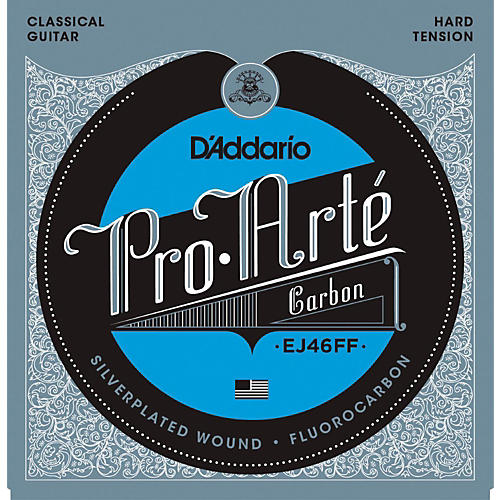 D'Addario Pro-Arte Carbon with Dynacore Basses - Hard Tension Classical Guitar Strings-thumbnail