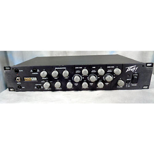used peavey pro bass 500 bass amp head guitar center. Black Bedroom Furniture Sets. Home Design Ideas