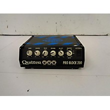 Quilter Labs Pro Block 200 Bass Amp Head