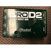Radial Engineering Pro D2 Stereo Direct Box Direct Box