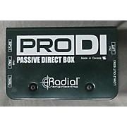 Radial Engineering Pro DI Direct Box