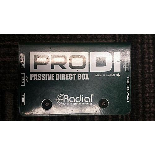 Radial Engineering Pro DI Direct Box-thumbnail