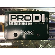 Radial Engineering Pro Di Direct Box