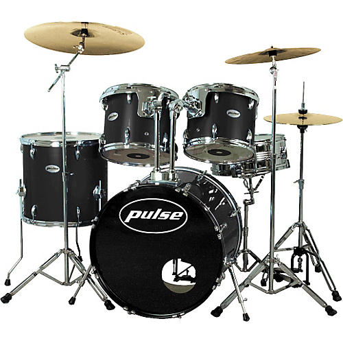 Pulse Pro Drum Set, Black