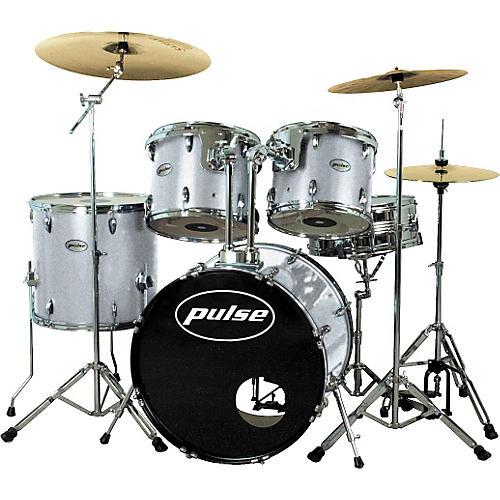 Pulse Pro Drum Set, Silver Metallic