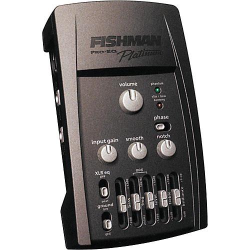 Fishman Pro EQ Platinum Acoustic Guitar Preamp