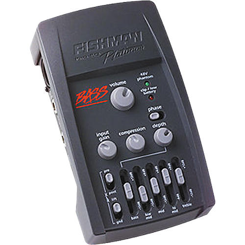 Fishman Pro-EQ Platinum Bass Preamp