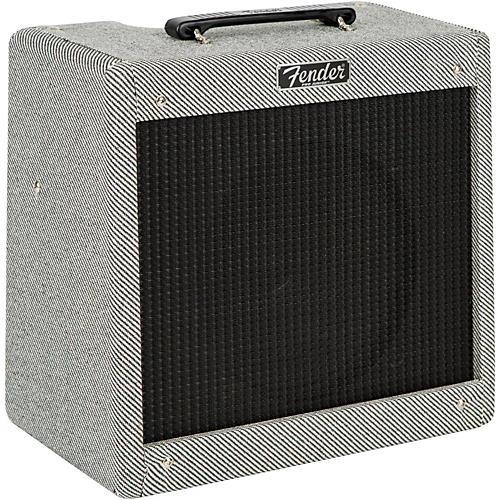 Fender Pro Junior III 15W 1x10 Tube Guitar Combo Amp Gray Tweed-thumbnail