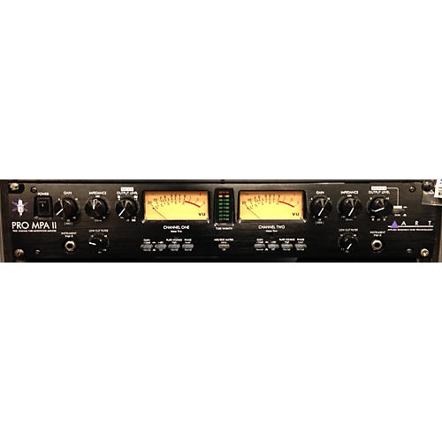 Art Pro MPA II 2-Channel Tube Microphone Preamp
