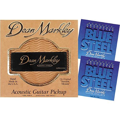 Dean Markley Pro Mag Grand Acoustic Guitar Pickup Bundle