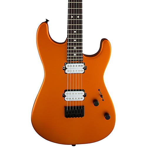 Charvel Pro Mod San Dimas Style 1 HH HT Electric Guitar Satin Orange Blaze