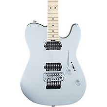 Pro-Mod San Dimas Style 2 HH Floyd Rose Maple Fingerboard Electric Guitar Satin Silver