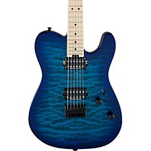 Charvel Pro-Mod San Dimas Style 2 HH Hardtail Quilted Maple Level 1 Chlorine Burst