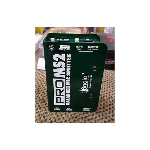 Radial Engineering Pro Ms2 Direct Box