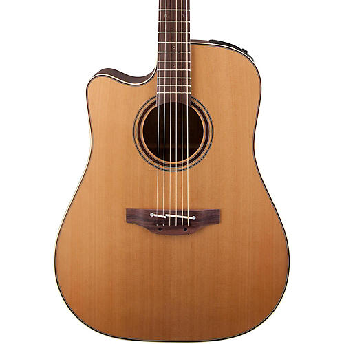 Takamine Pro P3DC-LH Left-Handed Acoustic-Electric Guitar-thumbnail