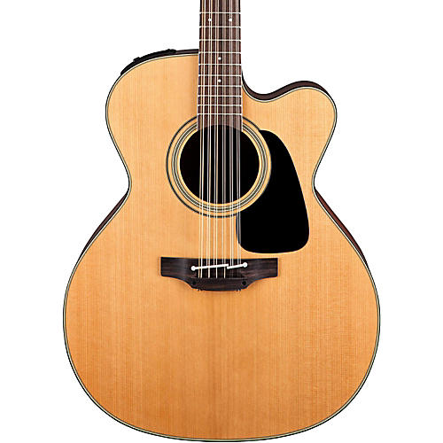 Takamine Pro Series 1 Jumbo Cutaway 12-String Acoustic Electric Guitar-thumbnail