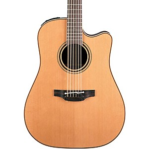 Takamine Pro Series 3 Dreadnought Cutaway 12 String Acoustic Electric Guita...