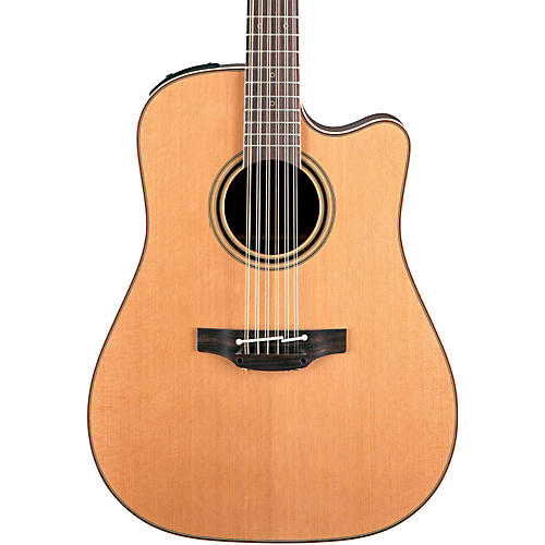 Takamine Pro Series 3 Dreadnought Cutaway 12-String Acoustic Electric Guitar-thumbnail