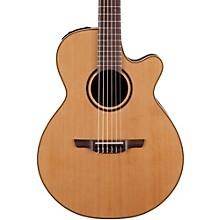 Takamine Pro Series 3 Folk Nylon Cutaway Acoustic-Electric Guitar Level 1 Natural