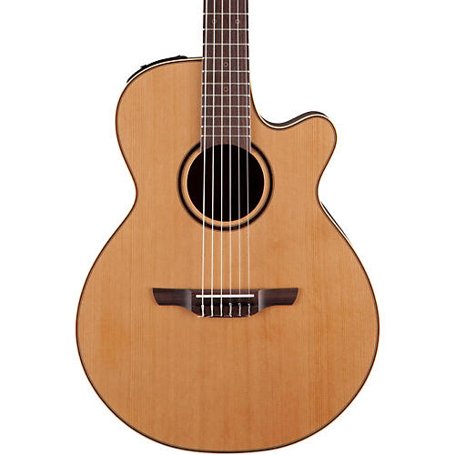 Takamine Pro Series 3 Folk Nylon Cutaway Acoustic-Electric Guitar-thumbnail