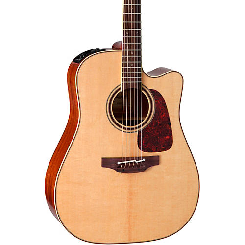 Takamine Pro Series 4 Dreadnought Cutaway Acoustic-Electric Guitar-thumbnail