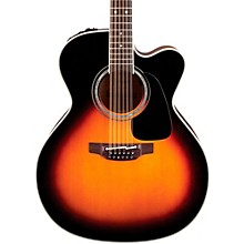 Takamine Pro Series 6 Jumbo Cutaway 12-String Acoustic-Electric Guitar