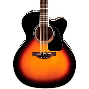 Takamine Pro Series 6 Jumbo Cutaway 12 String Acoustic-Electric Guitar by Takamine