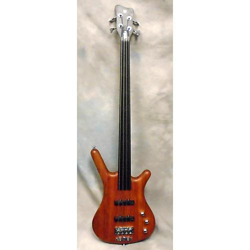 Warwick Pro Series Standard Corvette 4 String Fretless Electric Bass Guitar