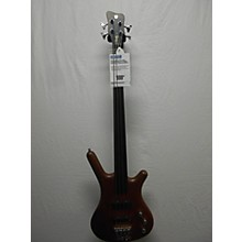 Warwick Pro Series Standard Corvette 4 String Fretless Electric Bass Guitar