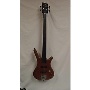 Pre-owned Warwick Pro Series Standard Corvette 4 String Fretless Electric Bass G...