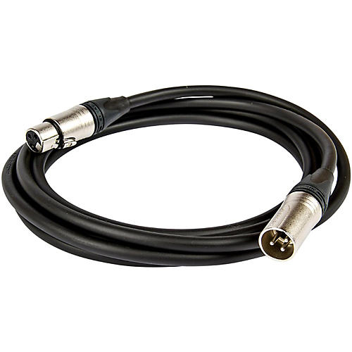 Asterope Pro Stage XLR Microphone Cable Black 20 ft.