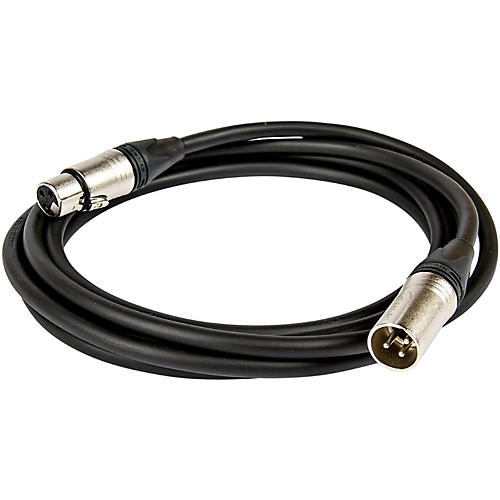 Asterope Pro Stage XLR Microphone Cable Black 30 ft.
